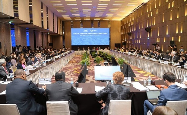 APEC senior officials convene second meeting in Hanoi hinh anh 1
