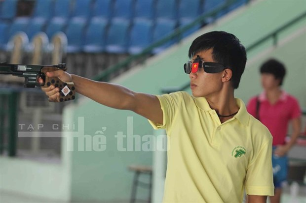 Vietnamese marksmen win gold in regional champs hinh anh 1