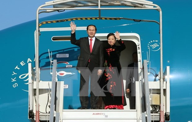 Vietnamese President's visit to China to strengthen Party, State relations hinh anh 1