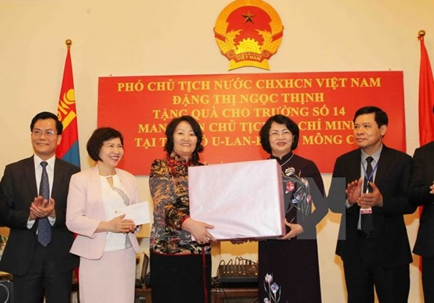 Vice President busy in Mongolia hinh anh 1
