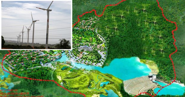 Quang Tri speeds up Huong Linh 2 wind power project hinh anh 1