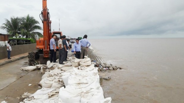 Bac Lieu: 340 billion VND needed to repair sea dyke erosion hinh anh 1