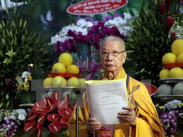 Ho Chi Minh City celebrates Buddha's 2,561st birth anniversary hinh anh 1