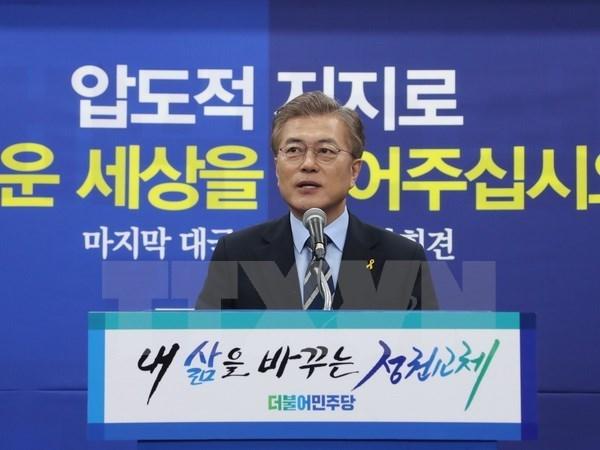 Vietnam congratulates new President of Republic of Korea hinh anh 1