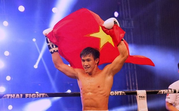 Vietnamese muay fighters enter world championships' semis hinh anh 1
