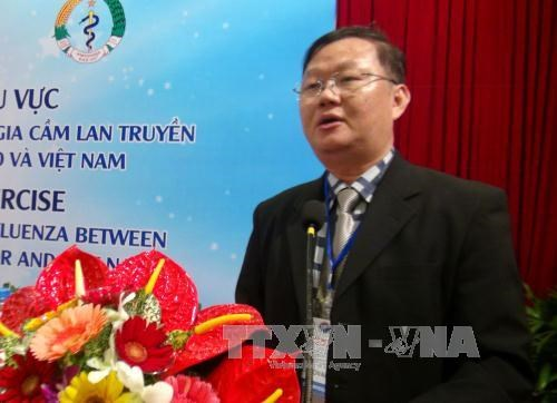 Vietnam, Laos, Cambodia join hands in controlling infectious diseases hinh anh 1