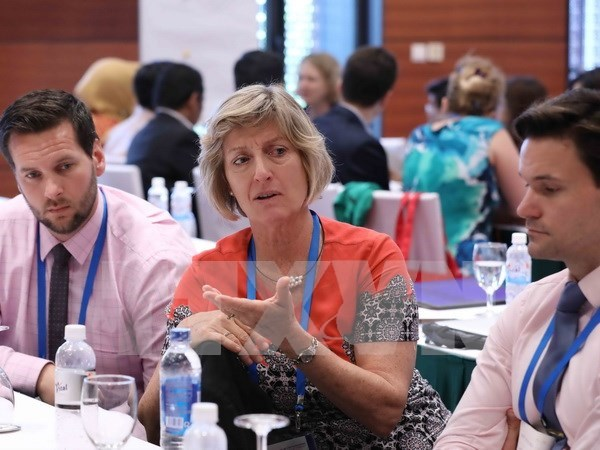 APEC SOM 2 continues discussing women's role, HR development hinh anh 1