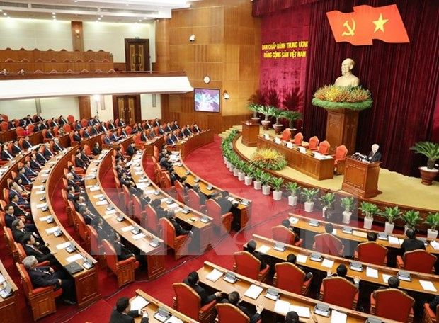 Party Central Committee's 5th meeting issues three resolutions on economy hinh anh 1