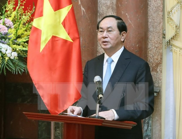 Partnership intensification matches VN-China's basic interests: President hinh anh 1