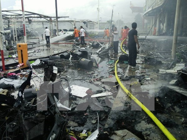 Thailand denies IS involvement in Pattani bomb attacks hinh anh 1