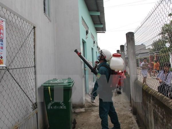 Localities strengthen prevention of dengue fever, Zika virus hinh anh 1
