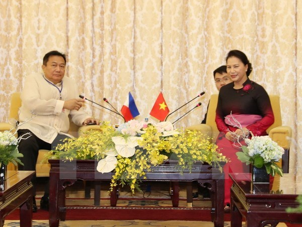 Vietnam strengthens ties with Philippine, Timor Leste parliaments hinh anh 1