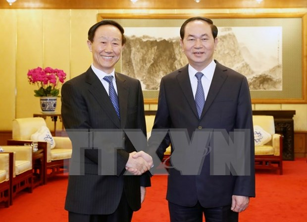 Vietnam values front cooperation with China: President hinh anh 1