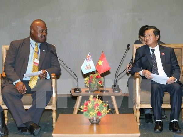 Vietnamese, Fijian legislatures urged to boost ties hinh anh 1