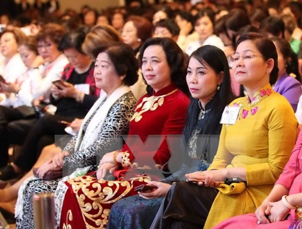 Vietnamese women play significant role in development hinh anh 1