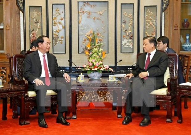 Vietnam, China agree to uphold cooperation mechanisms hinh anh 1