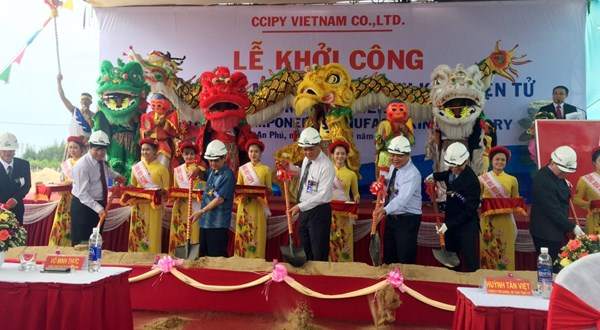 Work starts on first electronic component factory in Phu Yen hinh anh 1