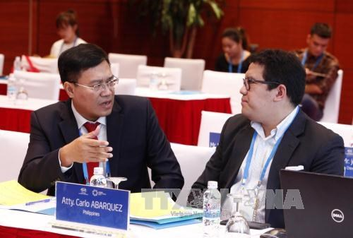 APEC representatives talk start-ups for youth, women and athletes hinh anh 1