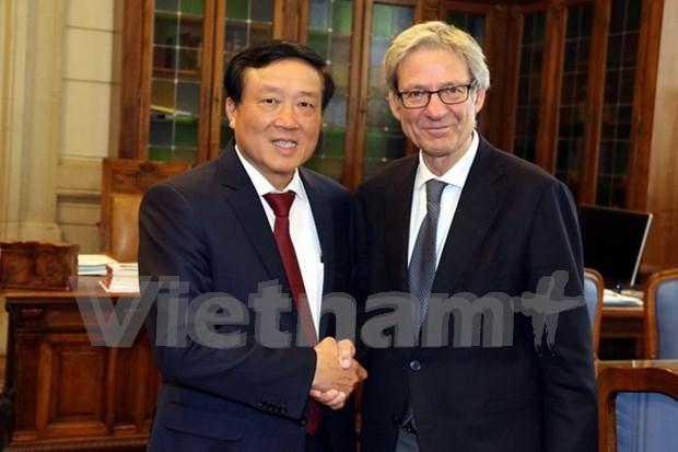 Vietnam, Italy step up judicial partnership hinh anh 1