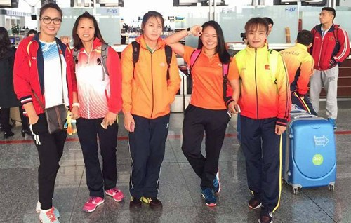 Vietnam grabs bronzes at Asian wrestling championships hinh anh 1