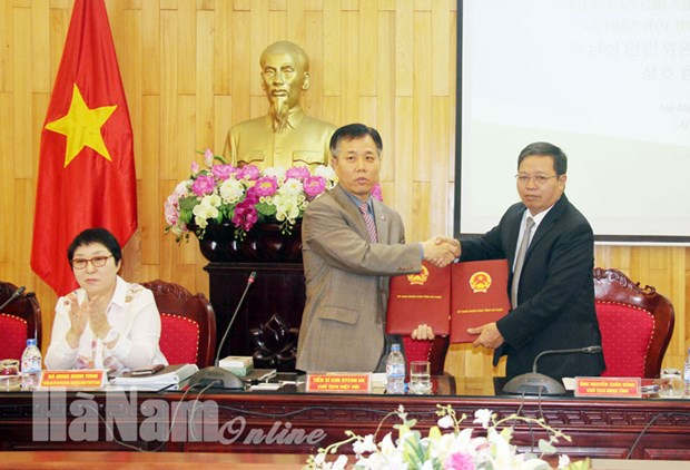 Ha Nam intensifies investment promotion with RoK hinh anh 1
