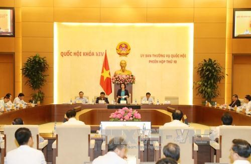 NA Standing Committee convenes 10th session hinh anh 1