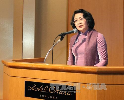 Vietnam welcomes Japanese businesses: Vice President hinh anh 1