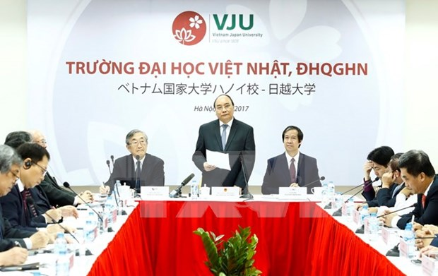 Vietnam-Japan University expected to provide elite human resources hinh anh 1