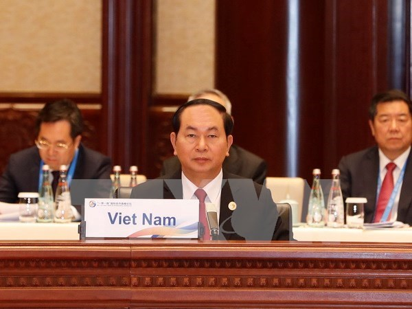 Belt and Road Forum's Leader Roundtable opens in Beijing hinh anh 1