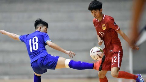 Vietnam U20 futsal team beats China in Thailand hinh anh 1