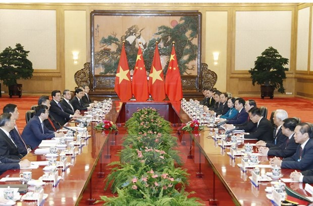 Vietnam, China cement ties through President's visit hinh anh 1