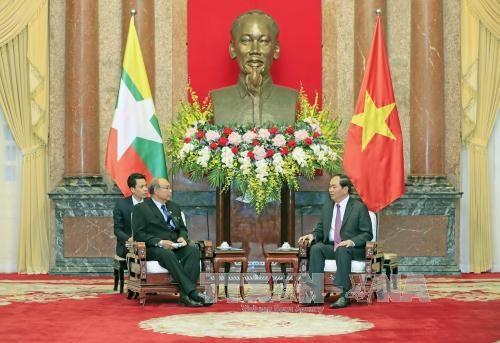 Myanmar top legislator wraps up Vietnam visit hinh anh 1