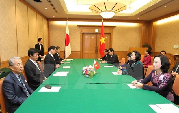 Vietnam supports cooperation with Japanese localities hinh anh 1