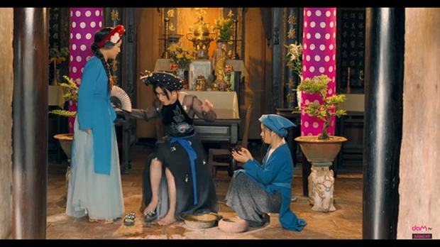 Young actor's parody film becomes an internet hit hinh anh 1