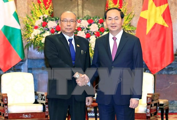 Vietnam, Myanmar urged to cooperate for mutual development hinh anh 1
