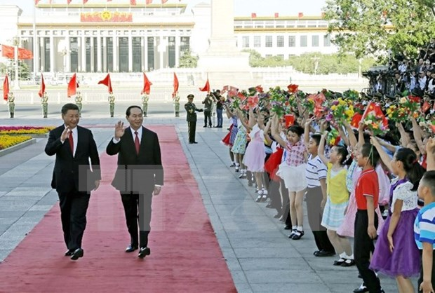 President Tran Dai Quang concludes State visit to China hinh anh 1