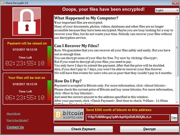 Gov't issues warnings against WannaCry ransomware hinh anh 1