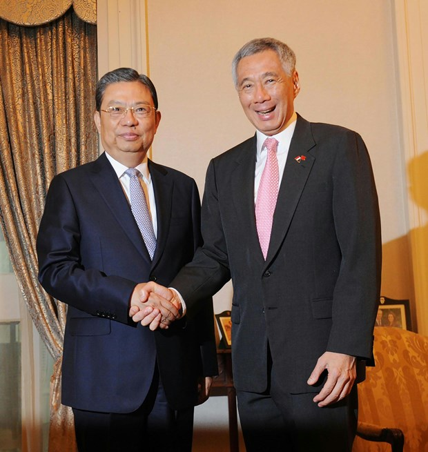 Singapore pledges to promote ASEAN-China relations hinh anh 1