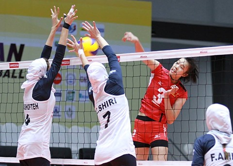 Vietnam beat Iran in U-23 Asian Volleyball hinh anh 1