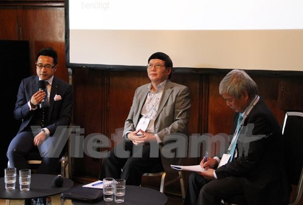 Vietnamese, German businesses seek partnerships through digitalisation hinh anh 1