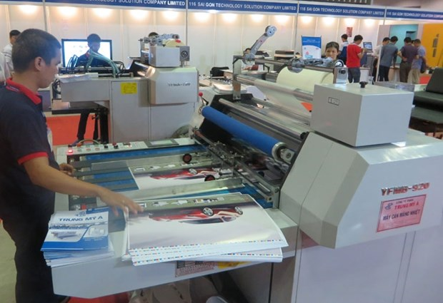 Digital printing technology exhibition opens in HCM City hinh anh 1