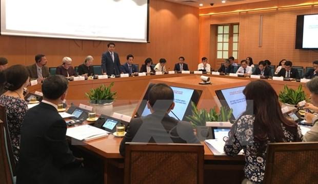 Seminar talks turning Hanoi into smart city hinh anh 1