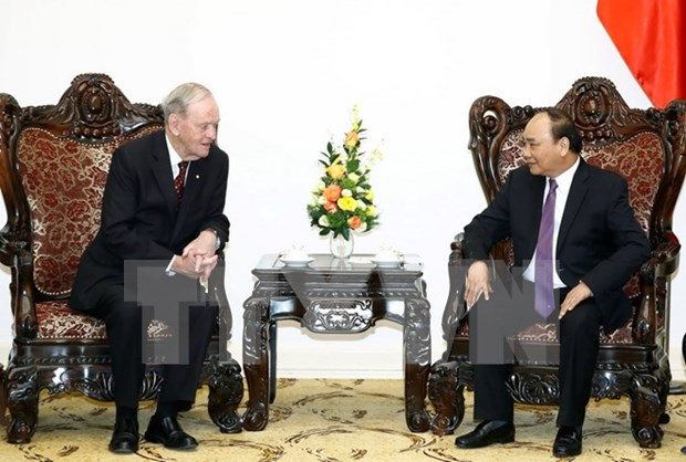 Prime Minister welcomes former Canadian PM hinh anh 1