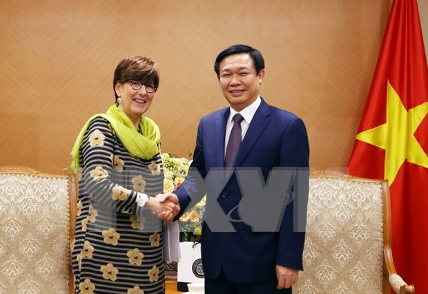 VN boosts tertiary education, green growth cooperation with Belgium hinh anh 1