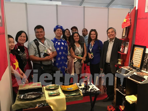 Vietnamese images promoted in Chile hinh anh 1