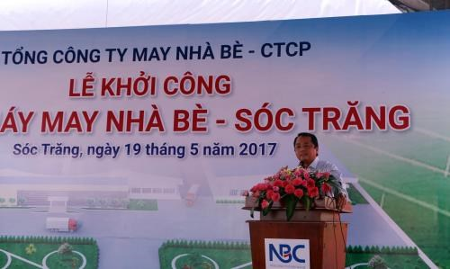 Work starts on Nha Be garment factory in Soc Trang hinh anh 1