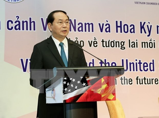 Vietnam welcomes US investors: President hinh anh 1