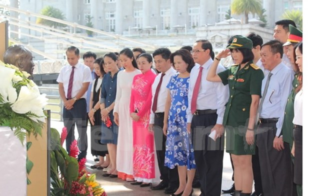 Activities in Singapore, Mexico mark late President's birthday hinh anh 1