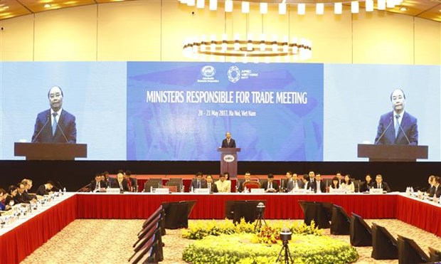 APEC Ministers Responsible for Trade Meeting opens in Hanoi hinh anh 1