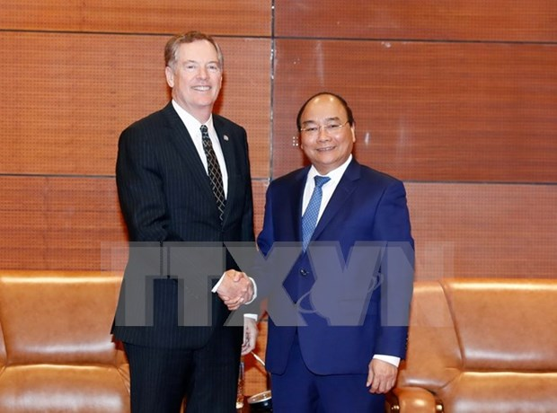 Prime Minister welcomes US trade representative hinh anh 1